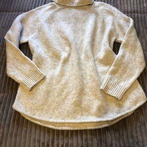 Michael kors oversize turtleneck sweater